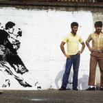 Blek le Rat goes Dancin! - a collection of images of street art paintings by Paris artist Blek le Rat aka born Xavier Prou
